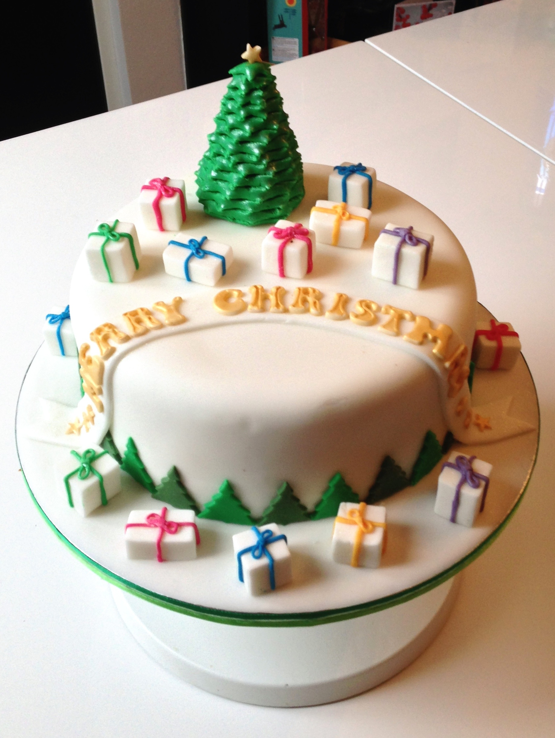 Christmas Cake 2013 | The Fondant Fancy